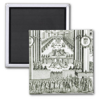The Coronation of Charles I Magnet