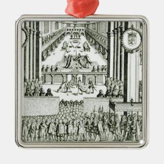 The Coronation of Charles I Metal Ornament