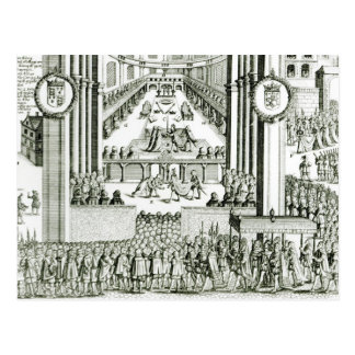 The Coronation of Charles I Postcard