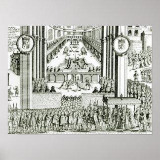The Coronation of Charles I Print