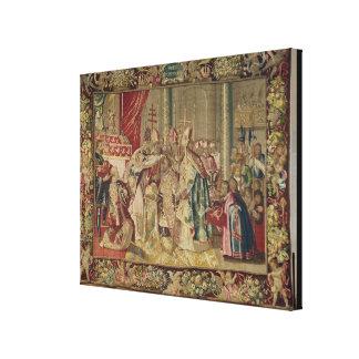 The Coronation of Charles V Canvas Print