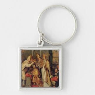 The Coronation of Charles V  Holy Roman Emperor Keychain