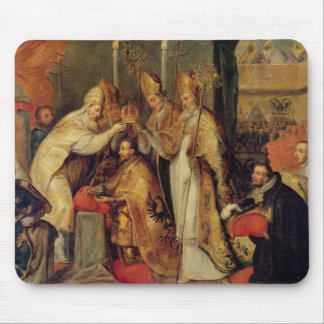 The Coronation of Charles V  Holy Roman Emperor Mouse Pad