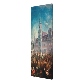 The Coronation of Empress Stretched Canvas Print