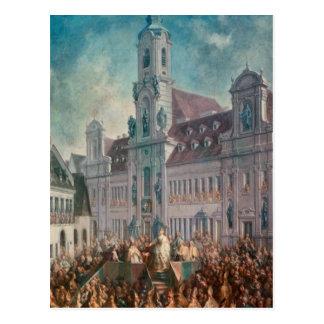 The Coronation of Empress Postcard