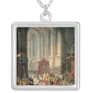 The Coronation of Joseph II Silver Plated Necklace