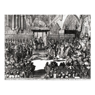 The Coronation of King George I Postcard