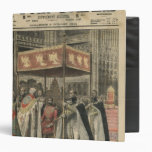 The Coronation of King George V 3 Ring Binder