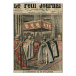The Coronation of King George V Greeting Card