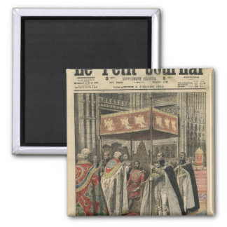 The Coronation of King George V Magnet