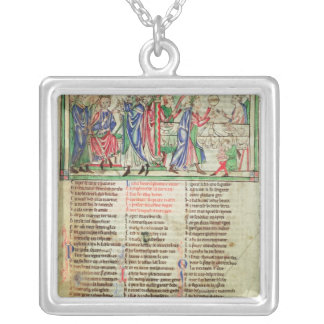 The Coronation of King Henry II's son Silver Plated Necklace