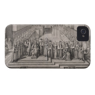 The Coronation of King James II (1633-1701) and hi iPhone 4 Case-Mate Case