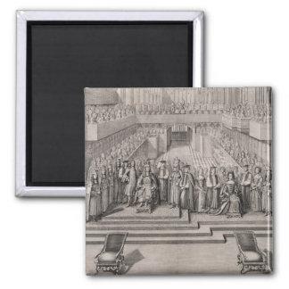 The Coronation of King James II (1633-1701) and hi Magnet