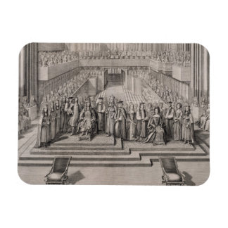 The Coronation of King James II (1633-1701) and hi Magnet