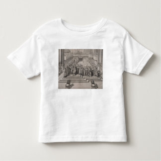 The Coronation of King James II (1633-1701) and hi Toddler T-shirt
