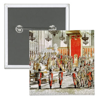 The Coronation of Leopold II  at Bratislava Button