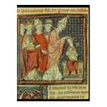 The coronation of Louis I 'the Pious' Postcard
