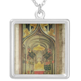The Coronation of Louis XII Silver Plated Necklace