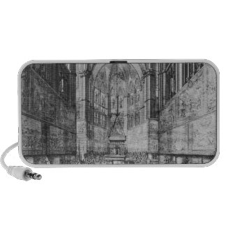 The Coronation of Louis XIV in Reims cathedral iPod Speakers
