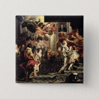 The Coronation of Marie de Medici  at St. Pinback Button