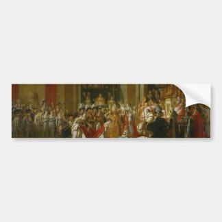 The Coronation of Napoleon Bumper Sticker