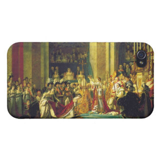 The Coronation of Napoleon by Jacques Louis David iPhone 4/4S Case