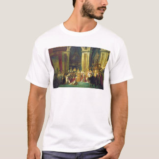The Coronation of Napoleon by Jacques Louis David T-Shirt