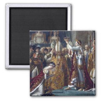 The Coronation Of Napoleon Jean Auguste Dominique Magnet