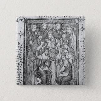 The Coronation of Richard II Button