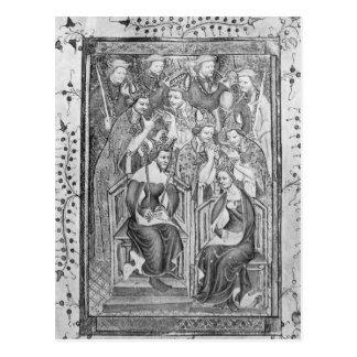 The Coronation of Richard II Postcard