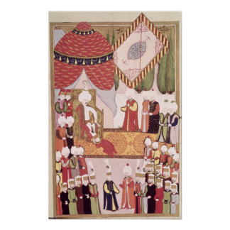 The Coronation of Sultan Selim I Poster