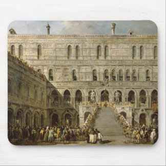 The Coronation of the Doge of Venice Mouse Pad