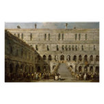 The Coronation of the Doge of Venice Poster