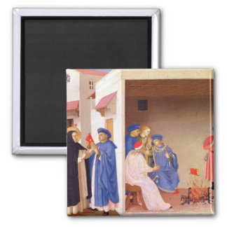 The Coronation of the Virgin 2 Inch Square Magnet
