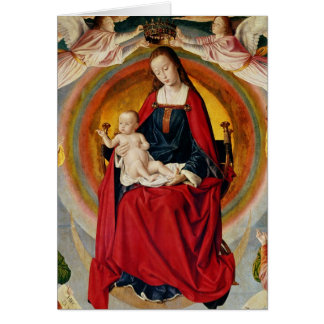 The Coronation of the Virgin Greeting Cards