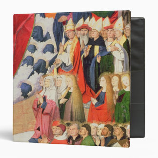 The Coronation of the Virgin, completed 1454 Binder