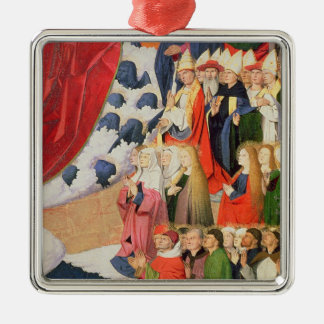 The Coronation of the Virgin, completed 1454 Metal Ornament