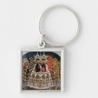 The Coronation of the Virgin in Paradise, 1438 Keychains