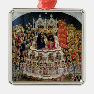 The Coronation of the Virgin in Paradise, 1438 Metal Ornament
