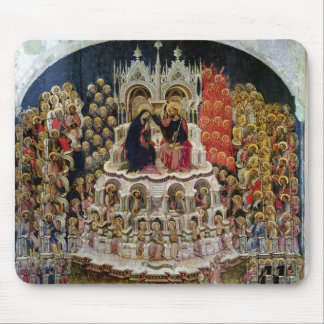 The Coronation of the Virgin in Paradise, 1438 Mouse Pad