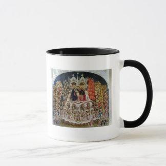 The Coronation of the Virgin in Paradise, 1438 Mug