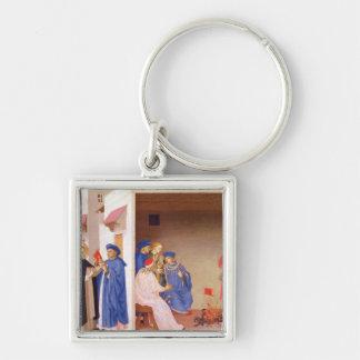 The Coronation of the Virgin Key Chain