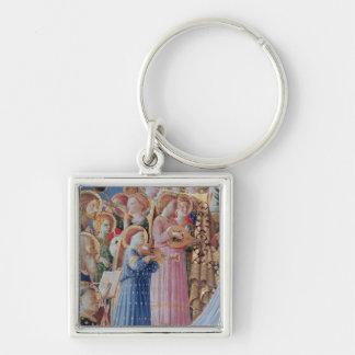 The Coronation of the virgin Keychain