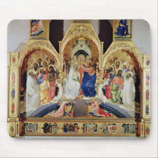 The Coronation of the Virgin Mouse Pad