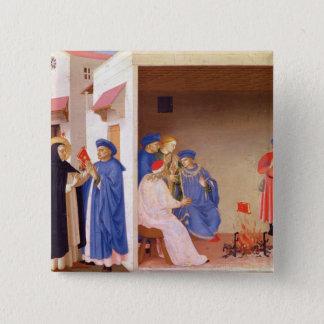 The Coronation of the Virgin Pinback Button