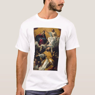 The Coronation of the Virgin with SS. William of A T-Shirt
