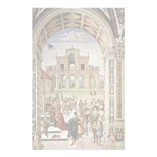 The Coronation Piccolomini By Frederick Iii. Customized Stationery