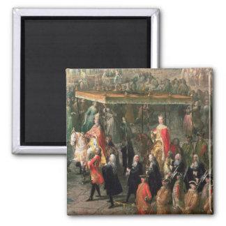 The coronation procession of Joseph II Magnet
