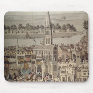 The Coronation Procession of King Edward VI Mouse Pad