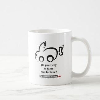 The Corporate Bunny Asks... Classic White Coffee Mug